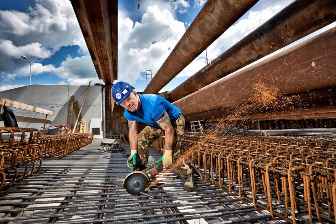 Ron de Smet – betonijzervlechter Spanberg BV